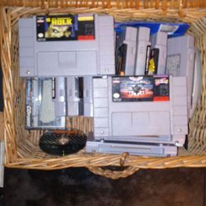 13 Super Nintendo Games for Sale in Richmond, CA