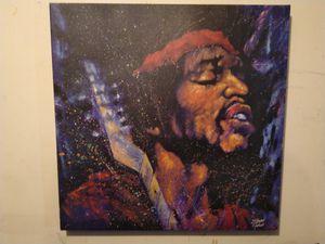 """Jimi Hendrix """"Purple Haze"""" signed by Stephen Fishwick for Sale in Fort Washington, MD"""