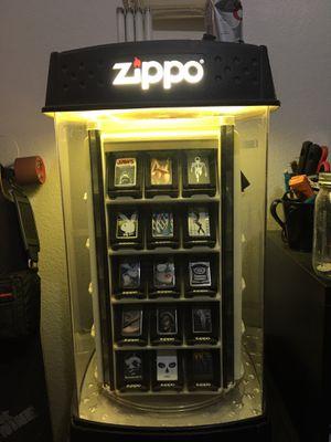 Zippo display case, zippo included for Sale in Gilbert, AZ