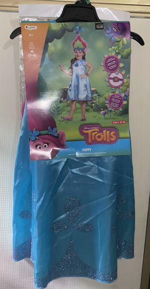 Trolls Poppy Costume M(7-8) for Sale in Los Angeles, CA