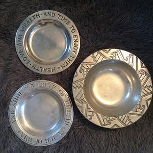 Winton pewter bowls (3) for Sale in Arlington, VA