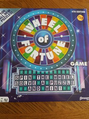 Wheel of fortune board game for Sale in Elkridge, MD