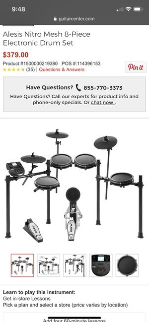 Electronic Drum Set for Sale in Lake Oswego, OR