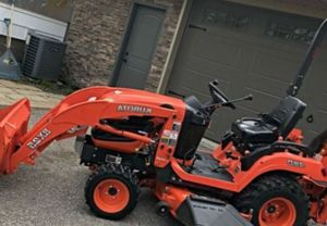 "Kubota Bx25 23hp Diesel With Loader, 54"" Mower and Bachhoe for Sale in Cleveland, OH"