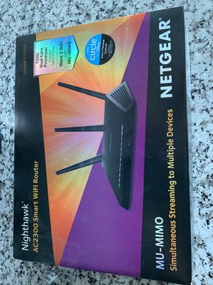 Nighthawk Wifi Router AC2300 for Sale in San Diego, CA
