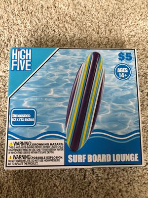 Inflatable Surfboard (never used) for Sale in Washington, DC
