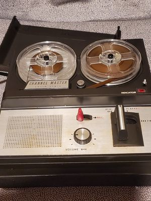 Channel Master 6471-a Small Portable Reel To Reel Tape Player for Sale in Alexandria, VA