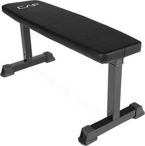 Cap Strength Black Flat Bench New for Sale in Orlando, FL