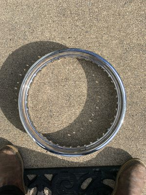 D.I.D Japanese Chrome cafe racer rim MT 2.50x17 for Sale in Tacoma, WA