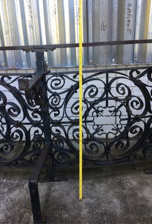 Antique Rod-iron balcony railings from New Orleans for Sale in Malabar, FL