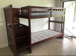 Twin bunk bed one matress for Sale in Haines City, FL