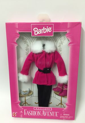 Barbie boutique fashion Avenue pink snow outfit doll clothing for Sale in Los Angeles, CA
