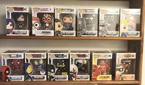Funko Pop individual or lot Taking offers for Sale in Raleigh, NC