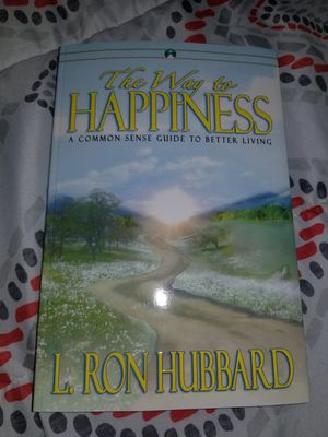 The Way of Happiness. A Book of L. Ron Hubbard for Sale for sale  Norcross, GA