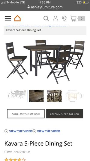 Ashley's Furniture Kavara Dining Set for Sale in La Puente, CA