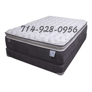"""14"""" Pillowtop Mattress with memory foam cooling gel $499 for Sale in San Diego, CA"""
