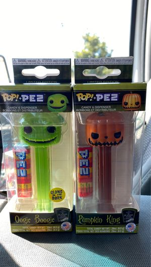 The nightmare before Christmas funko pop pez for Sale in San Diego, CA