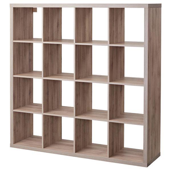 IKEA Kallax Storage Cub Shelf Grey 16