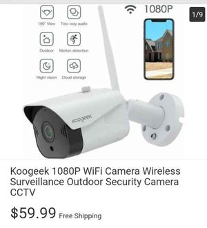 1080p Wifi Security Camera for Sale in Columbus, OH