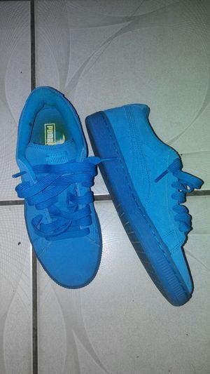 Blue Suede Pumas for Sale in West Palm Beach, FL