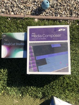 Avid and final cut programs. for Sale in Los Angeles, CA