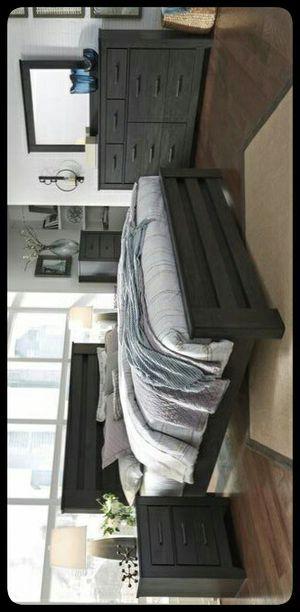 💤Ashley SET💤 Brinxton Black Panel Bedroom Set for Sale in Mount Rainier, MD
