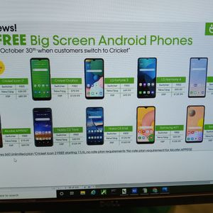 🆓 Android Smartphone When You Switch And Port! for Sale in Heber Springs, AR