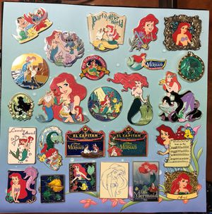 Disney Ariel pin lot for Sale in Galt, CA