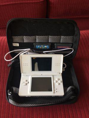 Nintendo DS white + 7 games for Sale in Roanoke, VA