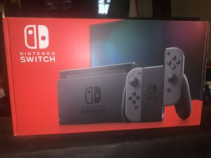 Nintendo Switch 32GB Console Gray Joy-Con for Sale in Rydal, PA