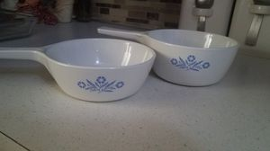 Corningware 2 small serving dishes for Sale in Reading, PA