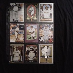 (9) Different SATCHEL PAIGE Baseball Card Lot St Louis Cardinals for Sale in Redmond, WA