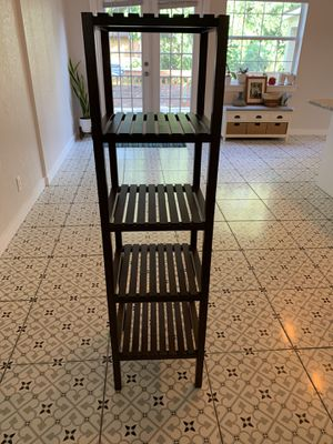 Dark Brown Shelving Unit for Sale in Orlando, FL