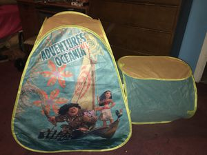 Moana play tent for Sale in McKees Rocks, PA