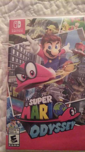 Super Mario odyssy for Sale in Rialto, CA