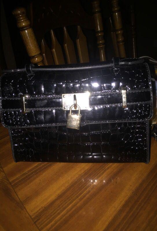 Black nice purse