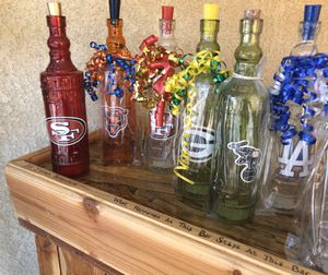 Sports theme light up bottles for Sale in Fresno, CA