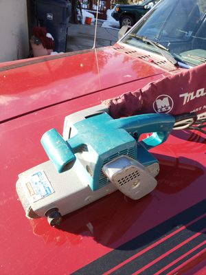 Makita 3 inch belt sander for Sale in Frenchtown, MT