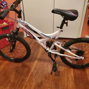 "Mongoose Girls bike Full suspension 20"" for Sale in Washington, DC"
