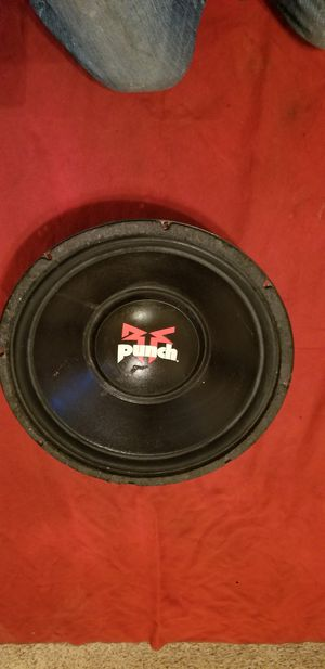 "Vintage 1994 RockFord Fosgate 15"" woofer for Sale in Alameda, CA"