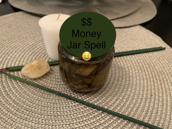Money Jar Spellwork