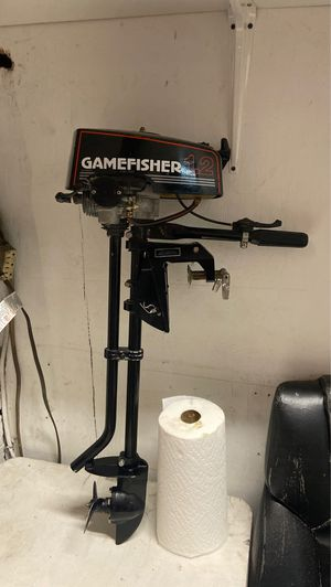 Game fisher 1.2 outboard motor for Sale in S CHESTERFLD, VA