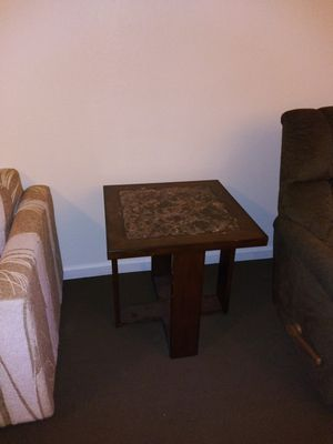 End Tables with marble & wood for Sale in Corning, CA