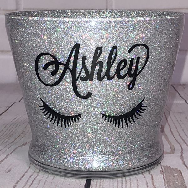 Personalized Makeup Brush Holders