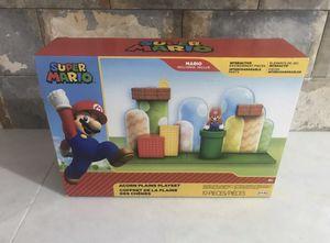 World of Nintendo Super Mario Acorn Plains Playset for Sale in Newton, KS