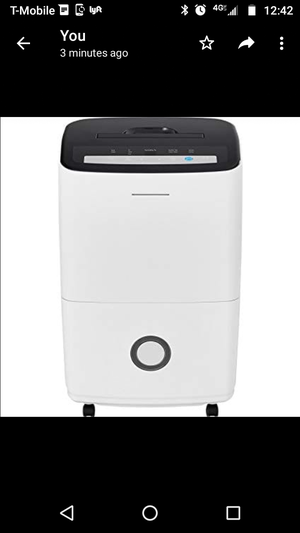 New Frigidaire dehumidifier FFAP7033T1 70 pints for Sale in Los Angeles, CA