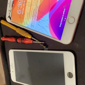 iPhone 8 Plus screen replacement — We drive to you and fix ~!! for Sale in Tempe, AZ