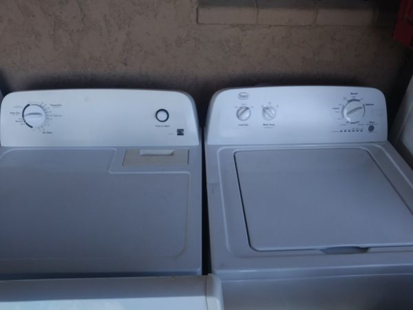 Roper washer dryer