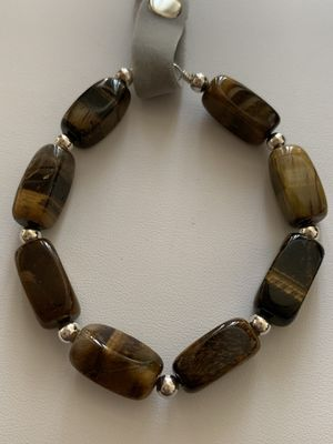 925 silver bracelet with natural stone for Sale in Whittier, CA
