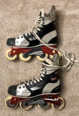 Baur Vapor in-Line Hockey Skates for Sale in Littleton, MA